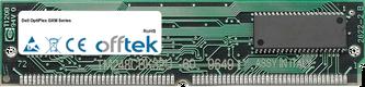 OptiPlex GXM Serie 64MB Kit (2x32MB Módulos) - 72 Pin 5v EDO Non-Parity Simm