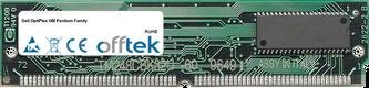 OptiPlex GM Pentium Family 64MB Kit (2x32MB Módulos) - 72 Pin 5v EDO Non-Parity Simm