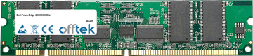 PowerEdge 2300 333MHz 256MB Módulo - 168 Pin 3.3v PC100 ECC Registered SDRAM Dimm