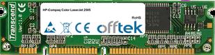 Color LaserJet 2505 256MB Módulo - 100 Pin 3.3v SDRAM PC100 SoDimm