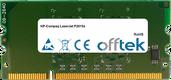 LaserJet P2015x 256MB Módulo - 144 Pin 1.8v DDR2 PC2-3200 SoDimm