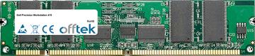 Precision Workstation 410 256MB Módulo - 168 Pin 3.3v PC100 ECC Registered SDRAM Dimm