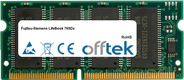 LifeBook 765Dx 64MB Módulo - 144 Pin 3.3v PC66 SDRAM SoDimm