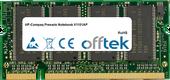 Presario Notebook V1101AP 1GB Módulo - 200 Pin 2.5v DDR PC333 SoDimm