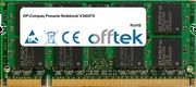 Presario Notebook V3404TX 1GB Módulo - 200 Pin 1.8v DDR2 PC2-5300 SoDimm