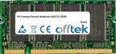Presario Notebook V4221TU (DDR) 1GB Módulo - 200 Pin 2.5v DDR PC333 SoDimm