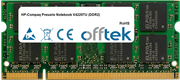 Presario Notebook V4229TU (DDR2) 1GB Módulo - 200 Pin 1.8v DDR2 PC2-4200 SoDimm