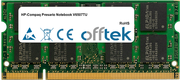 Presario Notebook V6507TU 2GB Módulo - 200 Pin 1.8v DDR2 PC2-5300 SoDimm