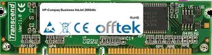 Business InkJet 2800dtn 256MB Módulo - 100 Pin 3.3v SDRAM PC100 SoDimm