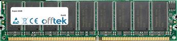 AX4E 1GB Módulo - 184 Pin 2.6v DDR400 ECC Dimm (Dual Rank)