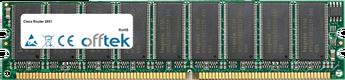 Router 2851 512MB Módulo - 184 Pin 2.5v DDR266 ECC Dimm