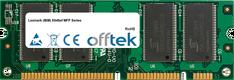 X646ef MFP Serie 512MB Módulo - 100 Pin 2.5v DDR PC2100 SoDimm