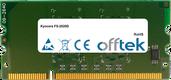 FS-2020D 1GB Módulo - 144 Pin 1.8v DDR2 PC2-5300 SoDimm