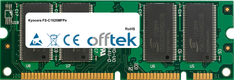 FS-C1020MFPe 128MB Módulo - 100 Pin 2.5v DDR PC2100 SoDimm