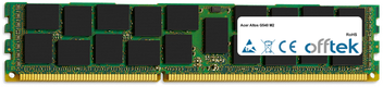 Altos G540 M2 16GB Módulo - 240 Pin 1.5v DDR3 PC3-12800 ECC Registered Dimm (Quad Rank)