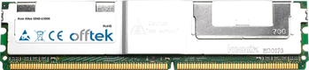 Altos G540-U3000 4GB Kit (2x2GB Módulos) - 240 Pin 1.8v DDR2 PC2-5300 ECC FB Dimm