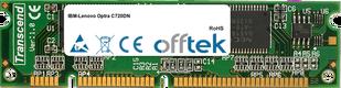 Optra C720DN 128MB Módulo - 100 Pin 3.3v SDRAM PC100 SoDimm