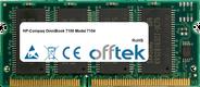 OmniBook 7100 Model 7104 128MB Módulo - 144 Pin 3.3v PC66 SDRAM SoDimm