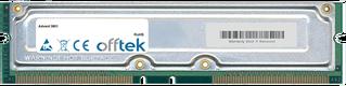 3801 1GB Kit (2x512MB Módulos) - 184 Pin 2.5v 800Mhz Non-ECC RDRAM Rimm