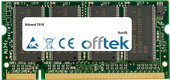 7018 512MB Módulo - 200 Pin 2.5v DDR PC266 SoDimm