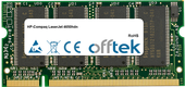 LaserJet 4650hdn 512MB Módulo - 200 Pin 2.5v DDR PC333 SoDimm