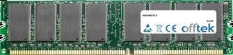 AN8 V2.0 1GB Módulo - 184 Pin 2.6v DDR400 Non-ECC Dimm
