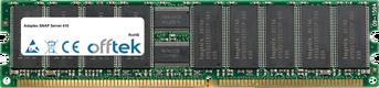 SNAP Server 410 1GB Módulo - 184 Pin 2.5v DDR400 ECC Registered Dimm