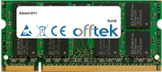 6311 1GB Módulo - 200 Pin 1.8v DDR2 PC2-5300 SoDimm