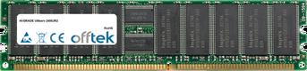 Ultiserv 2400JR2 4GB Kit (2x2GB Módulos) - 184 Pin 2.5v DDR333 ECC Registered Dimm (Dual Rank)