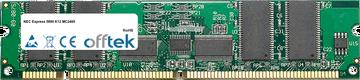 Express 5800 K12 MC2400 256MB Módulo - 168 Pin 3.3v PC100 ECC Registered SDRAM Dimm