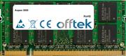 3000 1GB Módulo - 200 Pin 1.8v DDR2 PC2-5300 SoDimm