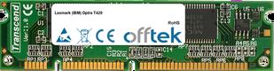 Optra T420 128MB Módulo - 100 Pin 3.3v SDRAM PC100 SoDimm