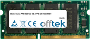 PPM-520-133-0M / PPM-520-133-0M-ST 256MB Módulo - 144 Pin 3.3v PC133 SDRAM SoDimm