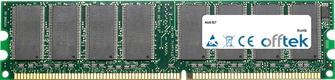 IS7 1GB Módulo - 184 Pin 2.6v DDR400 Non-ECC Dimm