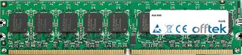 KN9 2GB Módulo - 240 Pin 1.8v DDR2 PC2-5300 ECC Dimm (Dual Rank)