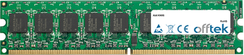 KN9S 2GB Módulo - 240 Pin 1.8v DDR2 PC2-5300 ECC Dimm (Dual Rank)