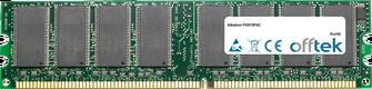 PX915P4C 1GB Módulo - 184 Pin 2.6v DDR400 Non-ECC Dimm