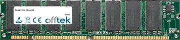 CT-6AJV5 256MB Módulo - 168 Pin 3.3v PC133 SDRAM Dimm
