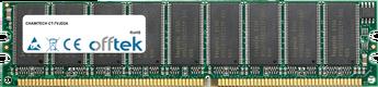 CT-7VJD2A 1GB Módulo - 184 Pin 2.6v DDR400 ECC Dimm (Dual Rank)