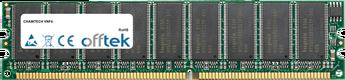 VNF4 1GB Módulo - 184 Pin 2.6v DDR400 ECC Dimm (Dual Rank)