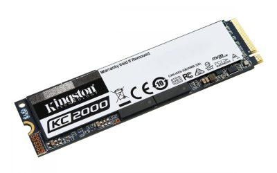 Kingston KC2000 M.2 NVMe SSD 1TB Unidad
