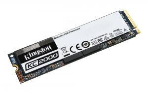Kingston KC2000 M.2 NVMe SSD 2TB Unidad