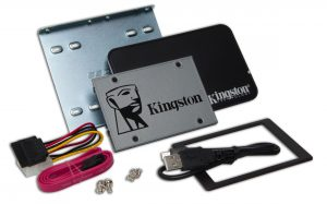 Kingston UV500 Kit de actualización SSD de 2.5 Pulgada 240GB