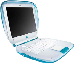 IBook G3 (300Mhz) Blueberry