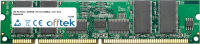 168 Pin Dimm - SDRAM - PC133 (133Mhz) - 3.3V - ECC Con Registro 256MB Módulo