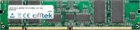 168 Pin Dimm - SDRAM - PC133 (133Mhz) - 3.3V - ECC Con Registro 512MB Módulo