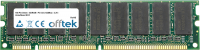 168 Pin Dimm - SDRAM - PC133 (133Mhz) - 3.3V - Sin Búfer ECC 256MB Módulo