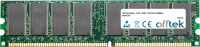 184 Pin Dimm - 2.5V - DDR - PC2700 (333Mhz) - Non-ECC 128MB Módulo