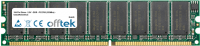 184 Pin Dimm - 2.5V - DDR - PC2700 (333Mhz) - Sin Búfer ECC 256MB Módulo