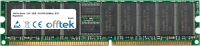 184 Pin Dimm - 2.5V - DDR - PC2700 (333Mhz) - ECC Con Registro 256MB Módulo